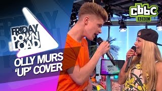 getlinkyoutube.com-Olly Murs ft Demi Lovato 'Up' cover with lyrics on CBBC Friday Download