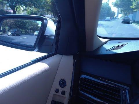 BMW E60  5  SERIES  СКЛАДЫВАЕМ  ЗЕРКАЛА   НА  СКОРОСТИ  40  КМ/Ч  ОНИ  ОТКРЫВАЮТСЯ.