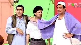 getlinkyoutube.com-Best Of Zafri Khan and Tariq Teddy Stage Drama Full Funny Comedy Clip
