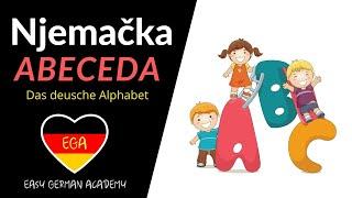 getlinkyoutube.com-Njemački od samog početka Lekcija 1 -  Njemačka abeceda - das Alphabet