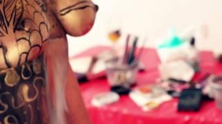 getlinkyoutube.com-NYC Life Ep. 6 - I'm A Body Painter