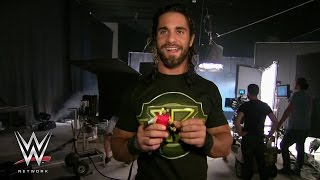 getlinkyoutube.com-WWE Network: Go behind the scenes with Roman Reigns, Seth Rollins and Mattel