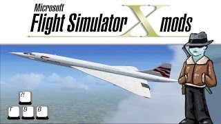 getlinkyoutube.com-Flight Simulator X Plane Spotlight - Concorde