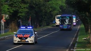 getlinkyoutube.com-FULL STROBO | Bus Ramayana Dikawal Polisi