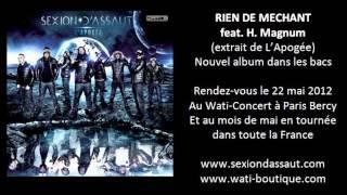 Sexion D'Assaut - Rien De Méchant (ft. H. Magnum)