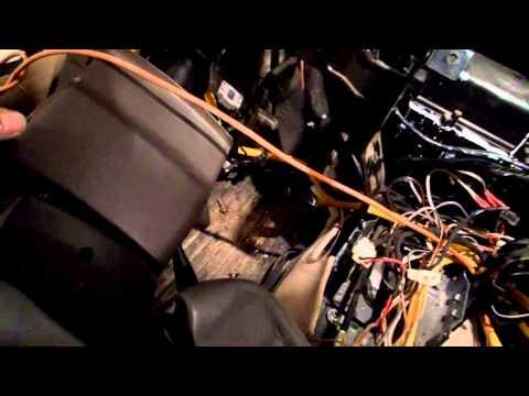 Замена радиатора печки на Чери Фора(Часть 1)