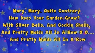 getlinkyoutube.com-Mary Mary Quite Contrary | Karaoke Rhymes