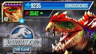 getlinkyoutube.com-Jurassic World - New Level 40 Legendary Hybrid Gorgosuchus