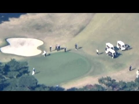 日米首脳「ゴルフ外交」 トランプ大統領が来日