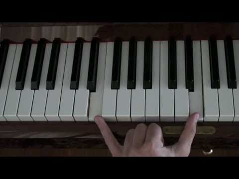 How To Play: Yann Tiersen - Comptine d'un autre ete Part 1 (Left Hand)