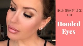 HOW TO: Halo Technique for HOODED EYES (ft. Too Faced Chocolate Bar Palette)