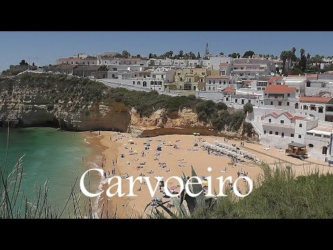 ALGARVE: Carvoeiro town & beach (Portugal) HD