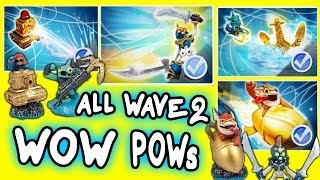 getlinkyoutube.com-All Skylanders Swap Force Wow Pows for Wave 2 S2 S3 Trigger Happy, Sprocket, Chop Chop, Gill Grunt