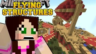 getlinkyoutube.com-Minecraft: REAL FLYING STRUCTURES (AIRSHIPS, PLANES & HELICOPTERS!) Mod Showcase
