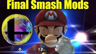 getlinkyoutube.com-DESTRUCTIVE, INSANE,  and AWESOME Final Smash Mods in Smash Bros Brawl/Project M