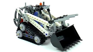 getlinkyoutube.com-Lego Technic 42032 Compact Tracked Loader Speed Build And Review