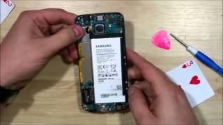 getlinkyoutube.com-Samsung Galaxy S6 Disassembly - First Teardown - Phone has never been opened.