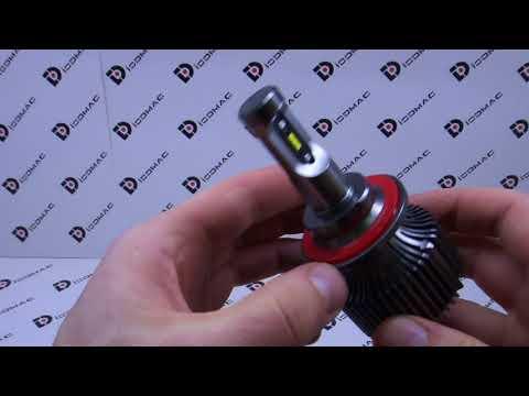 Краткий обзор автомобильных светодиодных ламп H13-30W PC NEW