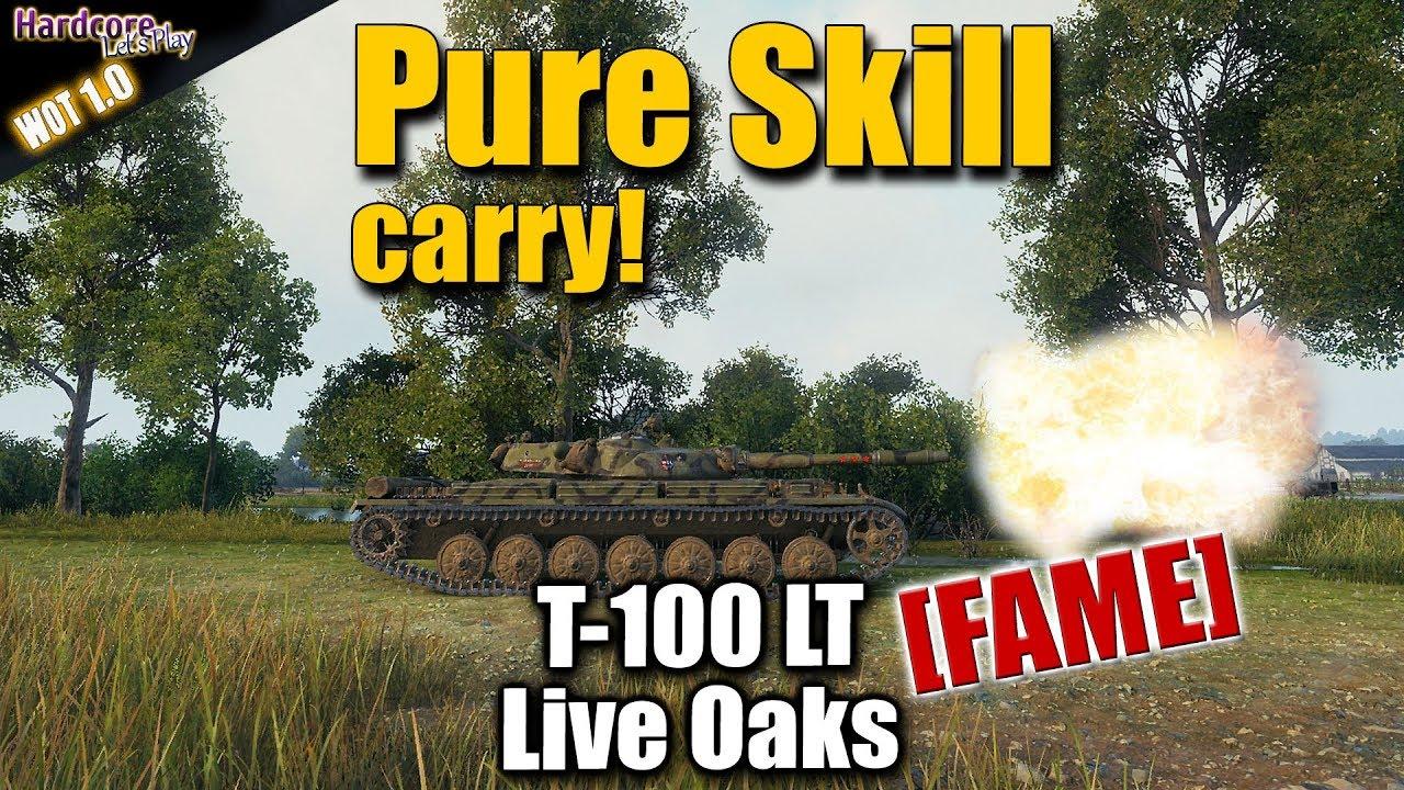 WOT  T 100 LT  Dakota Is Beast  FAME  pure skill carry  WORLD OF TANKS