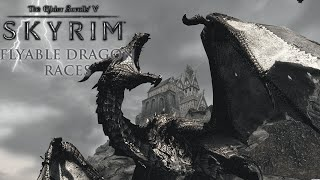 getlinkyoutube.com-Weekly Skyrim Mods: Flyable Dragon Races
