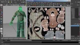 getlinkyoutube.com-Maya Tutorial: UV Editing and Layout Tips in Maya