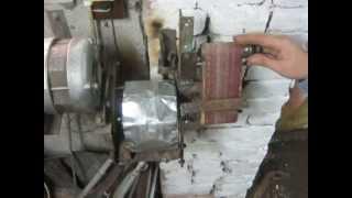 getlinkyoutube.com-Мини гриндер, на основе движка от стиральной машины, своими руками