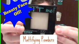 getlinkyoutube.com-Beauty Face Off!: Maybelline Fit Me Matte and Poreless Powder