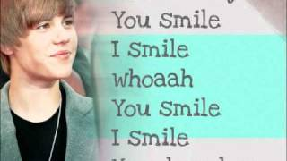 Justin Bieber - U smile - lyrics