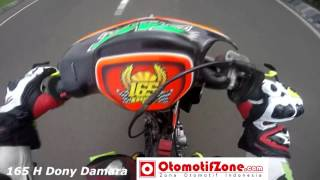 getlinkyoutube.com-H  Dony Damara Helmet Cam 165 MP4 - Road Race Brigif Cimahi