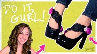 getlinkyoutube.com-DIY Adorable Shoe Clips! - Do It, Gurl