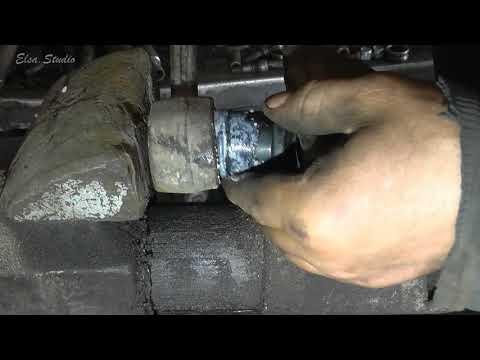Замена ромашек и сайлентблоков ВАЗ 2110