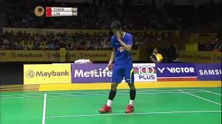 getlinkyoutube.com-Chen Long vs Lin Dan | MS F Match 3 - Maybank Malaysia Open 2015