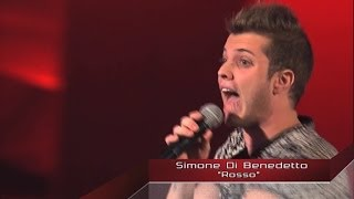 getlinkyoutube.com-The Voice IT   Serie 2   Blind 1   Simone Di Benedetto - #TEAMCARRÀ