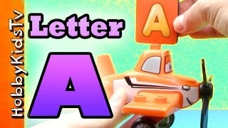 Learn Letter A - Using Real Items - Alphabet for Kids, Preschoolers,Teaching Toddlers, ESL