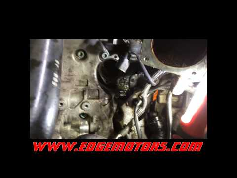 2002-2005 Audi A4 1.8T coolant thermostat replacement DIY by Edge Motors