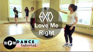"getlinkyoutube.com-EXO ""Love Me Right"" Dance Tutorial (Chorus)"