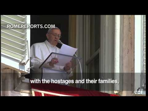 Pope prays for those kidnapped in Syria  calls for worldwide peace