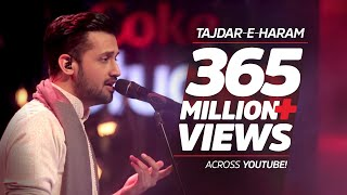 getlinkyoutube.com-Atif Aslam, Tajdar-e-Haram, Coke Studio Season 8, Episode 1.