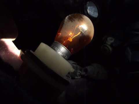 Замена лампы поворотников чери тиго