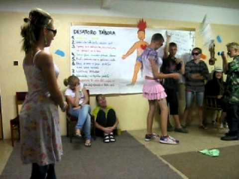 Hana Montana nakupuje - eRko tábor Letanovce 2011 (Oravská Polhora)