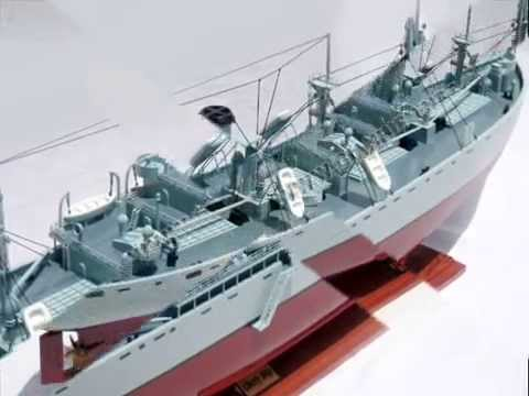 LIBERTY - WOODEN HANDICRAFT MODEL - WOODEN MODEL SHIP