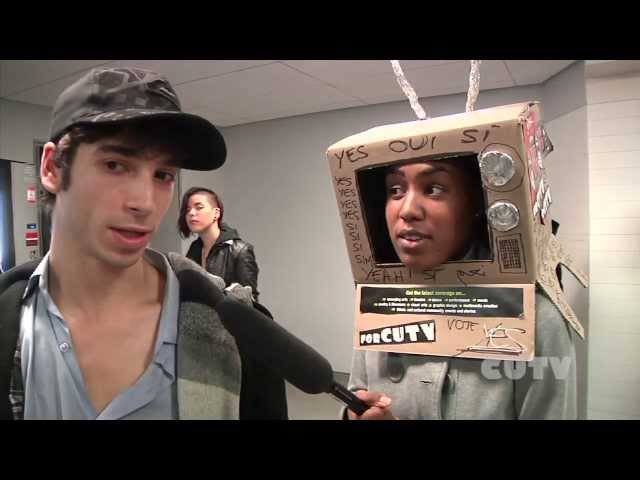 Vox Pop - Do you think CUTV should get on cable