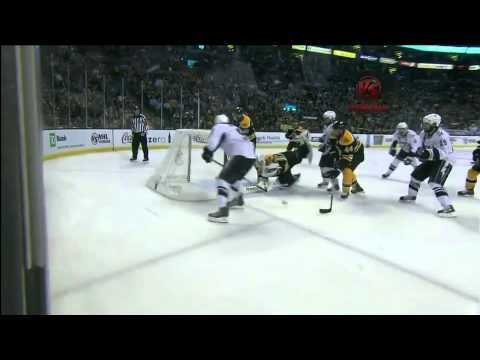 Tim Thomas miraculous stick save 5/23/11