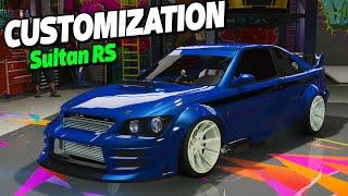 getlinkyoutube.com-GTA 5 Online - New KARIN SULTAN RS BENNY's TUNING - NEW GTA Online DLC [RALLY/STREET TUNING]