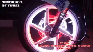 getlinkyoutube.com-PULSAR 220 X-MAN PARKING HEADLIGHT WITH MECHWHEEL LIGHT  BY AV MOD