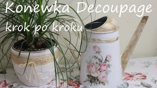 getlinkyoutube.com-Konewka Decoupage krok po kroku DIY