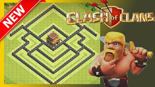 SWEET Th8 Hybrid/War Base (Post Update) | Anti Drag & Gowipe | The Purifier | Clash Of Clans