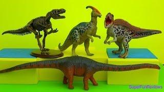 getlinkyoutube.com-Dinosaur Puzzle Surprise Eggs - Dino Puzzle 3D - Hatch your own dinosaurs