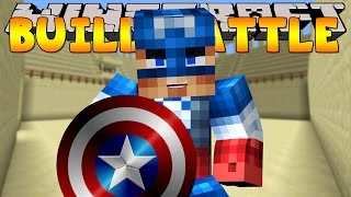 getlinkyoutube.com-Minecraft - BUILD BATTLES - CAPTAIN AMERICA BUILD OFF!