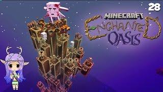 """getlinkyoutube.com-""""UR-GHAST TOWER"""" Minecraft Enchanted Oasis Ep 28"""